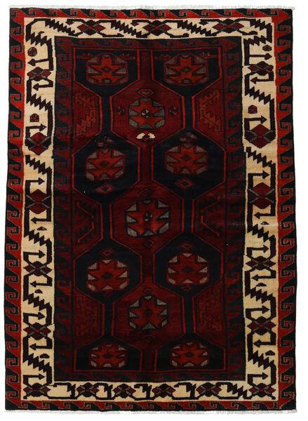 Lori Vloerkleed 157X223 Echt Oosters Handgeknoopt Donkerrood (Wol, Perzië/Iran)