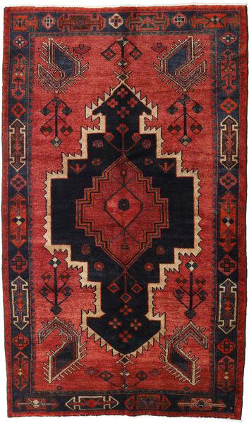 Lori Vloerkleed 147X248 Echt Oosters Handgeknoopt Donkerrood/Zwart/Roestkleur (Wol, Perzië/Iran)