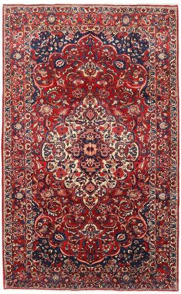 Bakhtiar Vloerkleed 210X348 Echt Oosters Handgeknoopt Donkerrood/Donkerpaars (Wol, Perzië/Iran)