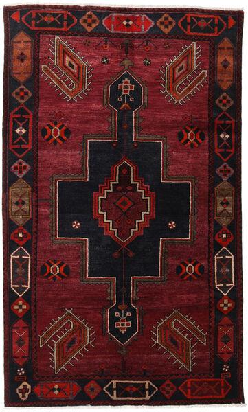 Lori Vloerkleed 145X242 Echt Oosters Handgeknoopt Donkerrood (Wol, Perzië/Iran)