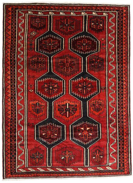 Lori Vloerkleed 210X280 Echt Oosters Handgeknoopt Donkerbruin/Roestkleur/Donkerrood (Wol, Perzië/Iran)
