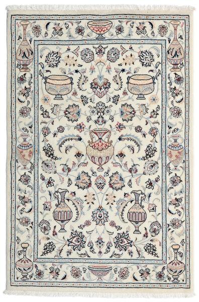 Kashmar Vloerkleed 101X154 Echt Oosters Handgeknoopt Lichtgrijs/Wit/Creme (Wol, Perzië/Iran)