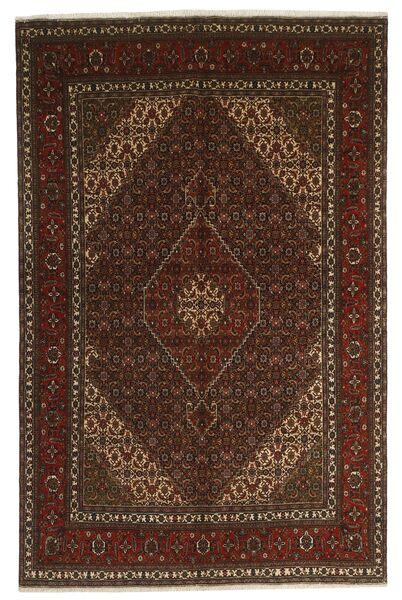 Tabriz 40 Raj Vloerkleed 200X300 Echt Oosters Handgeknoopt Donkerbruin/Bruin (Wol/Zijde, Perzië/Iran)