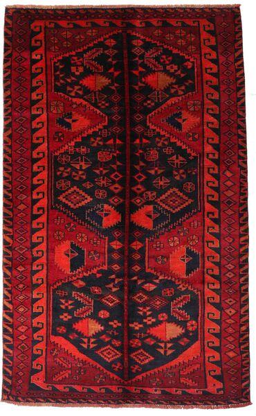 Lori Vloerkleed 161X262 Echt Oosters Handgeknoopt Donkerrood/Roestkleur (Wol, Perzië/Iran)