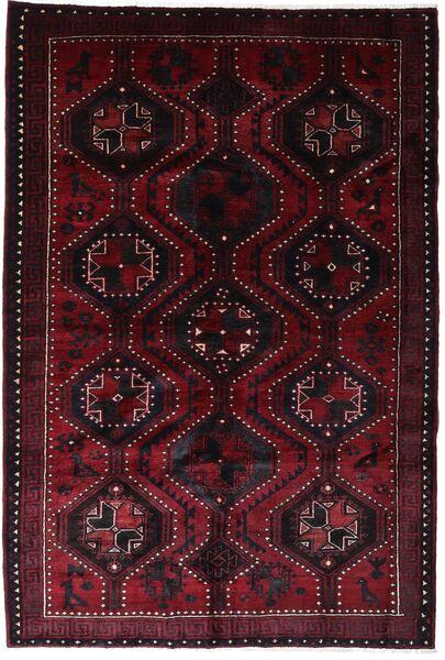 Lori Vloerkleed 168X250 Echt Oosters Handgeknoopt Donkerrood (Wol, Perzië/Iran)