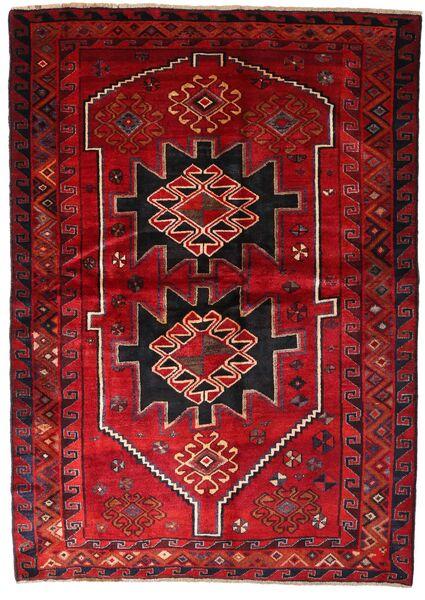 Lori Vloerkleed 170X238 Echt Oosters Handgeknoopt Donkerrood/Donkerbruin (Wol, Perzië/Iran)