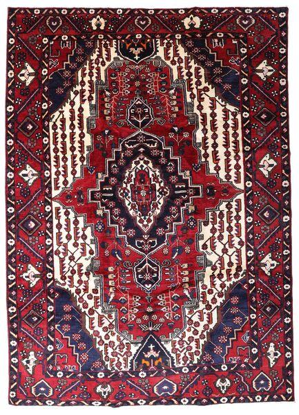 Lori Vloerkleed 217X303 Echt Oosters Handgeknoopt Donkerrood/Beige (Wol, Perzië/Iran)