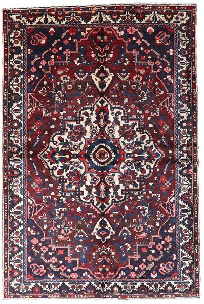 Bakhtiar Vloerkleed 160X241 Echt Oosters Handgeknoopt Donkerrood/Zwart (Wol, Perzië/Iran)