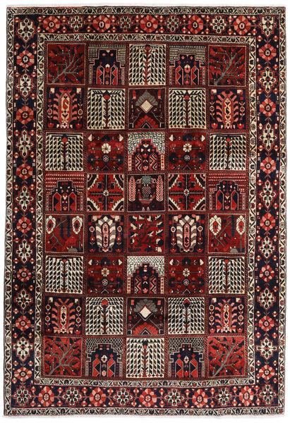 Bakhtiar Vloerkleed 225X327 Echt Oosters Handgeknoopt Donkerrood/Donkerbruin (Wol, Perzië/Iran)