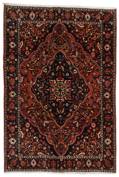 Bakhtiar Vloerkleed 210X307 Echt Oosters Handgeknoopt Donkerbruin/Donkerrood (Wol, Perzië/Iran)