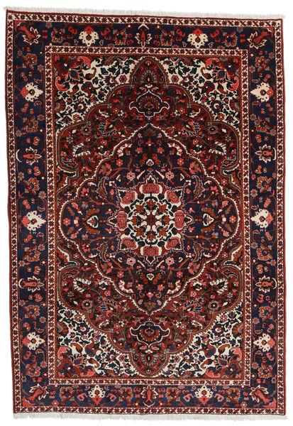 Bakhtiar Vloerkleed 205X298 Echt Oosters Handgeknoopt Donkerrood/Donkerbruin (Wol, Perzië/Iran)