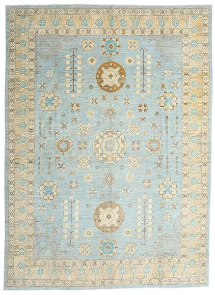 Ziegler Ariana Vloerkleed 306X422 Echt Oosters Handgeknoopt Lichtgrijs/Turquoise Blauw Groot (Wol, Afghanistan)