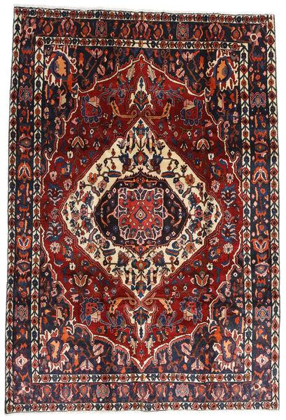 Bakhtiar Vloerkleed 207X300 Echt Oosters Handgeknoopt Donkerrood/Zwart (Wol, Perzië/Iran)