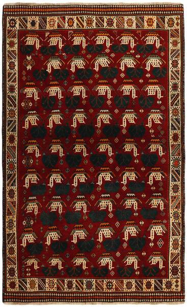 Ghashghai Vloerkleed 118X194 Echt Oosters Handgeknoopt Rood/Donkerrood (Wol, Perzië/Iran)