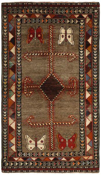 Ghashghai Vloerkleed 117X200 Echt Oosters Handgeknoopt Donkerbruin/Bruin (Wol, Perzië/Iran)