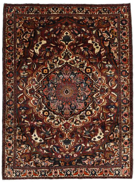 Bakhtiar Vloerkleed 230X305 Echt Oosters Handgeknoopt Donkerbruin (Wol, Perzië/Iran)