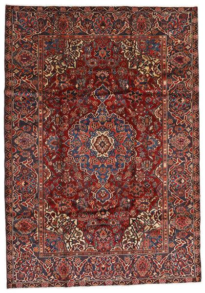 Bakhtiar Vloerkleed 213X305 Echt Oosters Handgeknoopt Donkerrood/Zwart (Wol, Perzië/Iran)