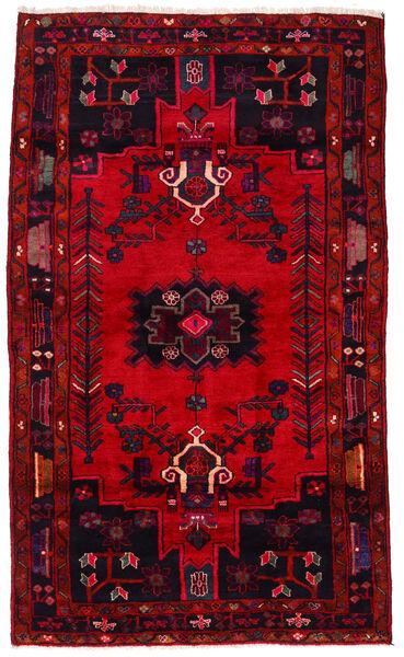 Koliai Vloerkleed 168X280 Echt Oosters Handgeknoopt Donkerpaars/Rood/Donkerrood (Wol, Perzië/Iran)