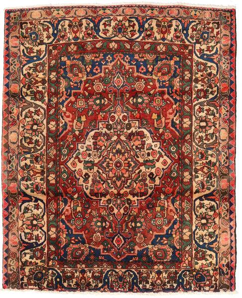 Bakhtiar Vloerkleed 174X214 Echt Oosters Handgeknoopt Donkerbruin/Donkerrood (Wol, Perzië/Iran)