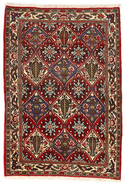 Bakhtiar Collectible Vloerkleed 105X153 Echt Oosters Handgeknoopt Donkerbruin/Donkerrood (Wol, Perzië/Iran)