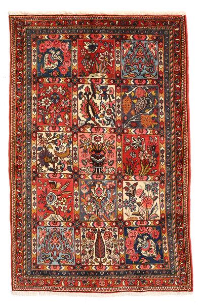 Bakhtiar Collectible Vloerkleed 98X150 Echt Oosters Handgeknoopt Donkerbruin/Donkerrood (Wol, Perzië/Iran)