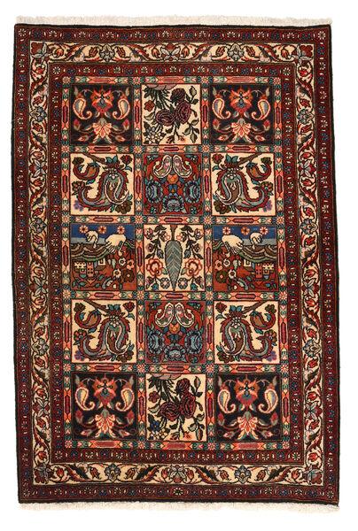 Bakhtiar Collectible Vloerkleed 105X158 Echt Oosters Handgeknoopt Donkerbruin/Donkerrood (Wol, Perzië/Iran)