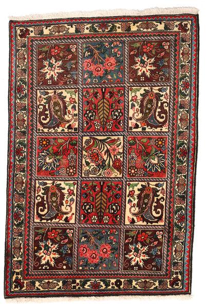 Bakhtiar Collectible Vloerkleed 108X158 Echt Oosters Handgeknoopt Donkerbruin/Donkerrood (Wol, Perzië/Iran)
