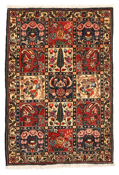 Bakhtiar Collectible Vloerkleed 108X161 Echt Oosters Handgeknoopt Donkerbruin/Donkerrood (Wol, Perzië/Iran)