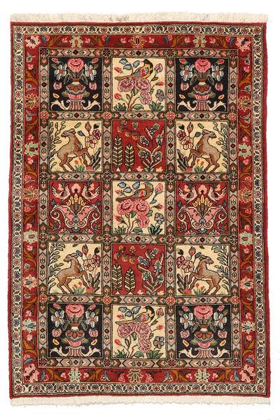 Bakhtiar Collectible Vloerkleed 103X150 Echt Oosters Handgeknoopt Donkerbruin/Lichtbruin (Wol, Perzië/Iran)