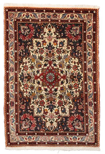 Bakhtiar Collectible Vloerkleed 105X156 Echt Oosters Handgeknoopt Donkerbruin/Donkerrood (Wol, Perzië/Iran)