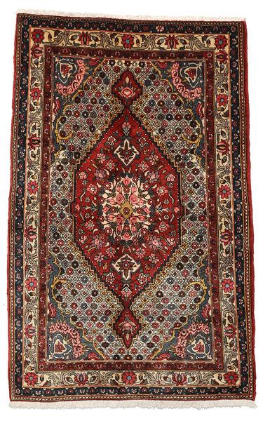 Bakhtiar Collectible Vloerkleed 100X158 Echt Oosters Handgeknoopt Donkerbruin/Donkerrood (Wol, Perzië/Iran)