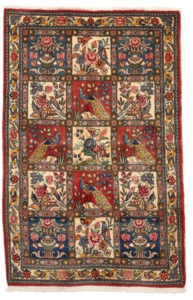 Bakhtiar Collectible Vloerkleed 106X162 Echt Oosters Handgeknoopt Donkerbruin/Donkerrood (Wol, Perzië/Iran)