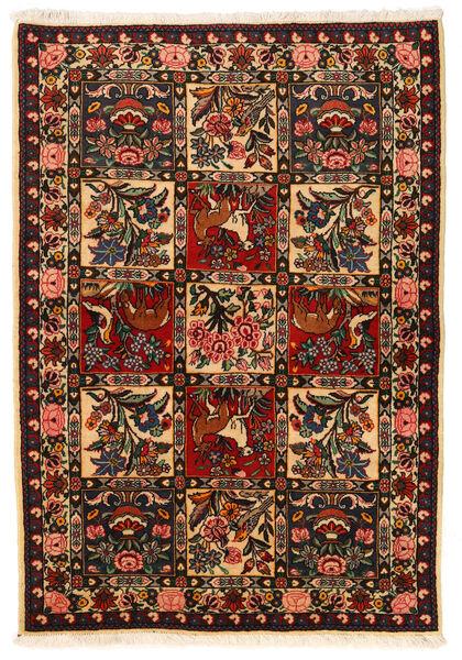 Bakhtiar Collectible Vloerkleed 106X152 Echt Oosters Handgeknoopt Zwart/Donkerrood (Wol, Perzië/Iran)