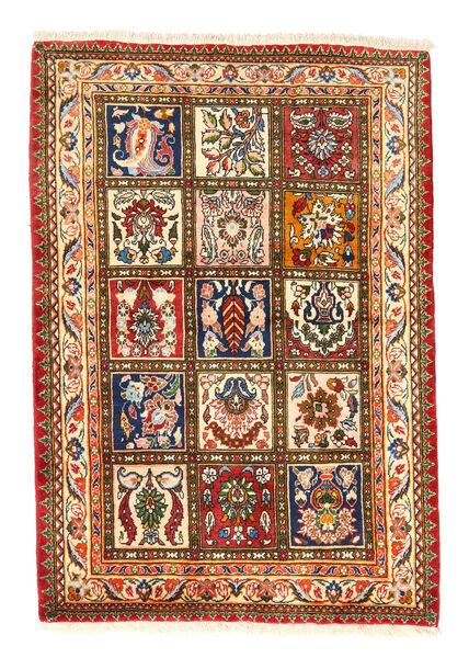 Bakhtiar Collectible Vloerkleed 105X150 Echt Oosters Handgeknoopt Rood/Donkerbeige (Wol, Perzië/Iran)