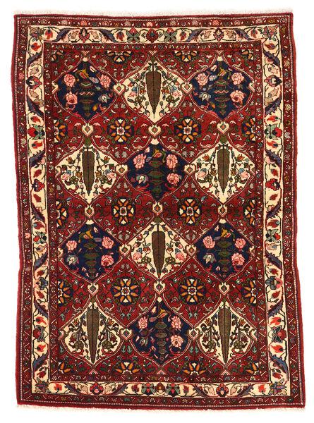 Bakhtiar Collectible Vloerkleed 106X149 Echt Oosters Handgeknoopt Donkerrood/Zwart (Wol, Perzië/Iran)