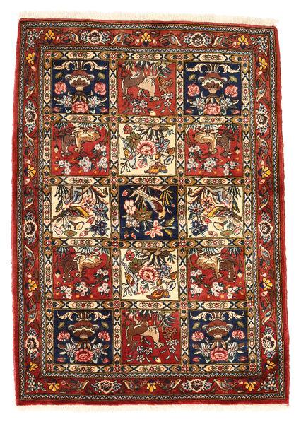 Bakhtiar Collectible Vloerkleed 111X156 Echt Oosters Handgeknoopt Donkerrood/Donkerbruin (Wol, Perzië/Iran)