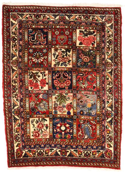 Bakhtiar Collectible Vloerkleed 107X143 Echt Oosters Handgeknoopt Donkerbruin/Donkerrood (Wol, Perzië/Iran)