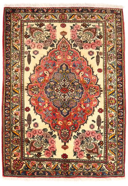 Bakhtiar Collectible Vloerkleed 109X151 Echt Oosters Handgeknoopt Donkerbruin/Beige (Wol, Perzië/Iran)