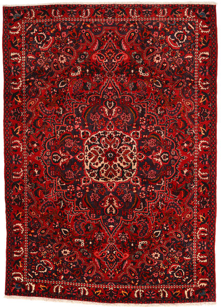 Bakhtiar Collectible Vloerkleed 215X295 Echt Oosters Handgeknoopt Roestkleur/Donkerbruin/Donkerrood (Wol, Perzië/Iran)