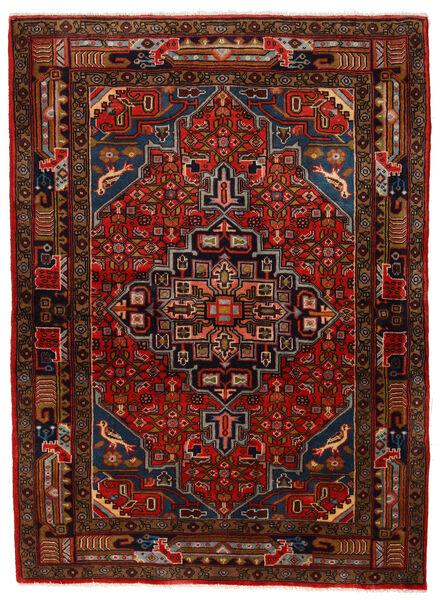 Koliai Vloerkleed 104X143 Echt Oosters Handgeknoopt Donkerbruin/Donkerrood (Wol, Perzië/Iran)