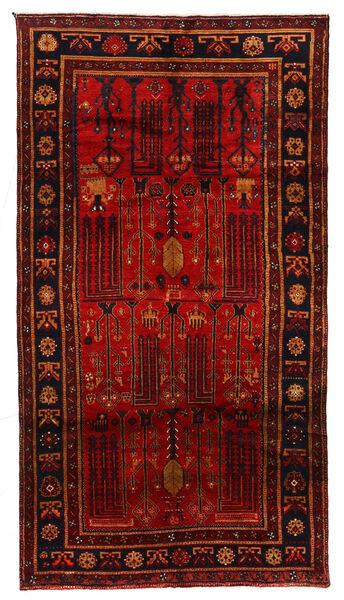 Koliai Vloerkleed 150X278 Echt Oosters Handgeknoopt Donkerrood/Roestkleur (Wol, Perzië/Iran)