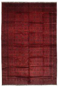 Afghan Khal Mohammadi Vloerkleed 406X582 Echt Oosters Handgeknoopt Donkerrood Groot (Wol, Afghanistan)