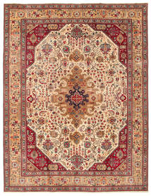 Tabriz Patina Vloerkleed 260X344 Echt Oosters Handgeknoopt Groot (Wol, Perzië/Iran)