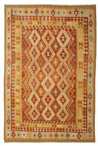 Kelim Afghan Old Style Vloerkleed 197X293 Echt Oosters Handgeweven (Wol, Afghanistan)