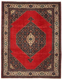 Hamadan Patina Vloerkleed 271X348 Echt Oosters Handgeknoopt Donkerbruin/Roestkleur Groot (Wol, Perzië/Iran)