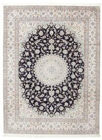 Nain 6La Getekend: Habibian Vloerkleed 205X271 Echt Oosters Handgeknoopt (Wol/Zijde, Perzië/Iran)