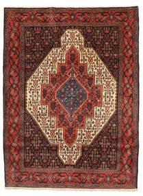 Senneh Vloerkleed 128X169 Echt Oosters Handgeknoopt (Wol, Perzië/Iran)