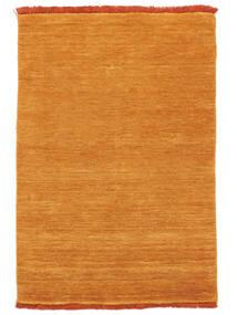 Handloom Fringes - Oranje Vloerkleed 200X300 Modern Geel/Lichtbruin (Wol, India)