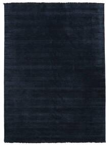 Handloom Fringes - Donkerblauw Vloerkleed 200X300 Modern Donkerblauw/Blauw (Wol, India)