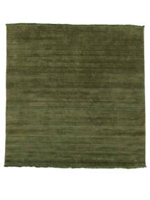 Handloom Fringes - Groen Vloerkleed 200X250 Modern Olijfgroen/Donkergroen (Wol, India)
